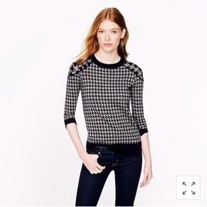 J.Crew Tippi Sweater in Houndstooth